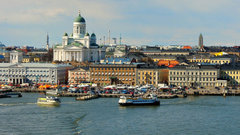Helsinki cathedral harbour