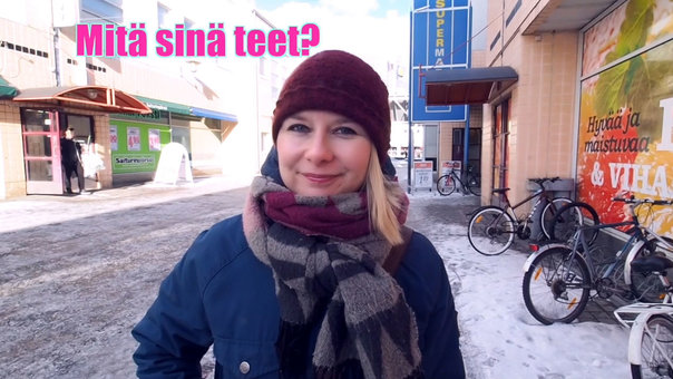 Finnish for foreigners course - Lesson 9: making questions in Finnish