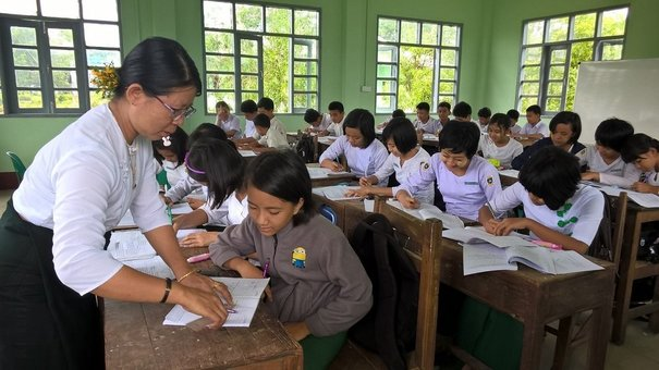 Finland supports with 7.12 million euros the schooling of vulnerable children in Myanmar