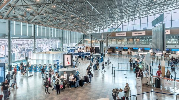 Number of passengers at Finnish airports plummeted 86% in August