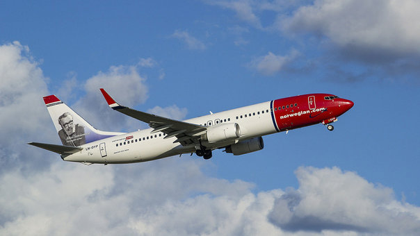 Norwegian started charging passengers for cabin luggage