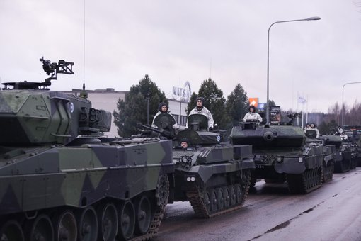 Tampere hosts the Independence military parade