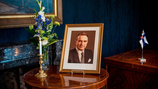 Memorial for former Finnish President Mauno Koivisto
