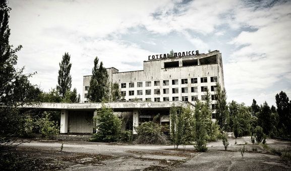 Radiation spikes near Chernobyl nuclear zone