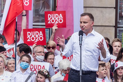 Polish president Duda aims to ban adoption by gay couples