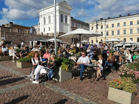 Foreign tourist nights in Finland decreased by 82%