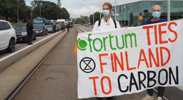 Controversial Fortum coal plant targeted by protests in Finland