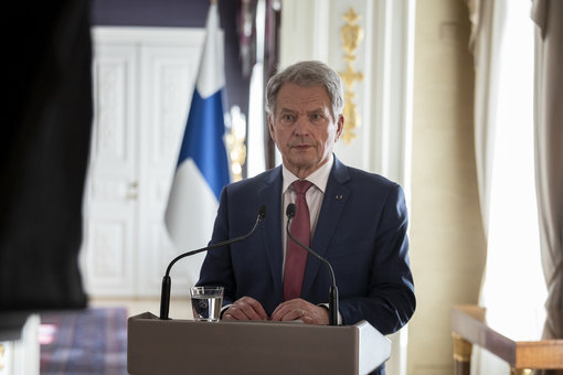 "President Sauli Niinistö: ""I stand in full solidarity with Macron"""