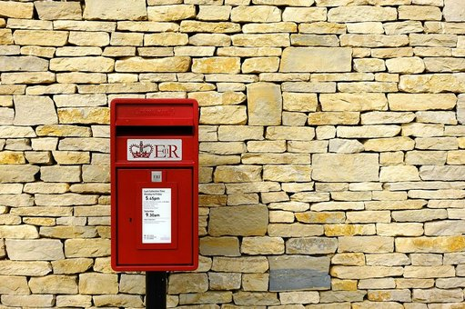 Post-box-royal mail by-pixabay