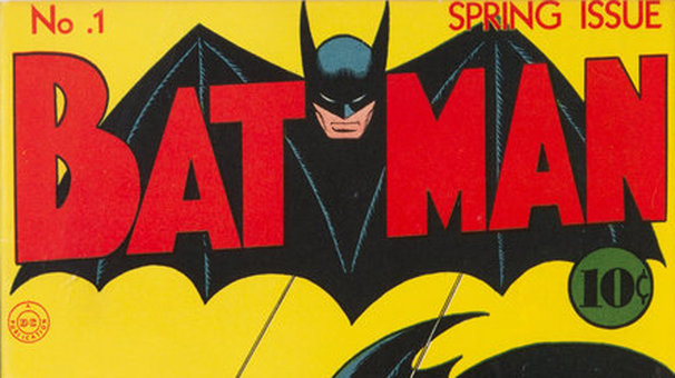 The sale sets a world auction record for a Batman comic, Dallas-based Heritage Auctions said on Thursday. Photo: Heritage Auctions/dpa - ATTENTION: editorial use only in connection with the latest coverage about (the transmission/the film/the auction/the exhibition/the book) and only if the credit mentioned above is referenced in full