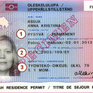 The residence permit card and its renewal