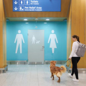 Two dog 'toilets' installed at Helsinki airport
