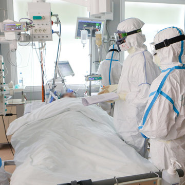 Only one Covid-19 patient remains in intensive care
