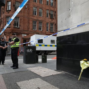 Police name Glasgow stabbing attacker shot by officers