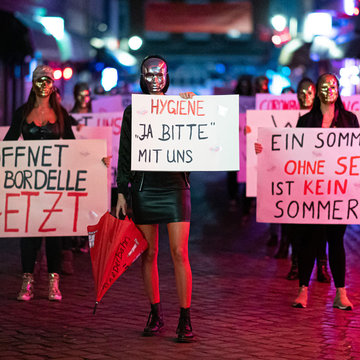 Sex work to resume in north Germany as prostitutes win court battles