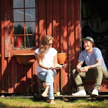 Accommodation,-cottage-tourists by Harri Tarvainen-Business Finland