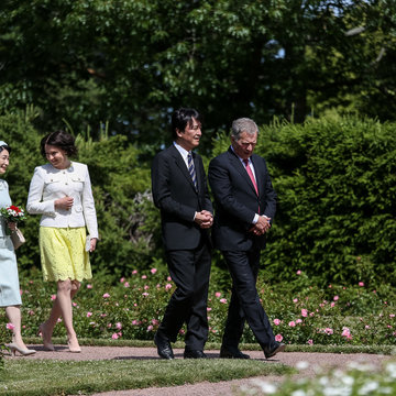 Japan Niinisto imperial highness. Photo by Matti Porre - Office of the President of the Republic
