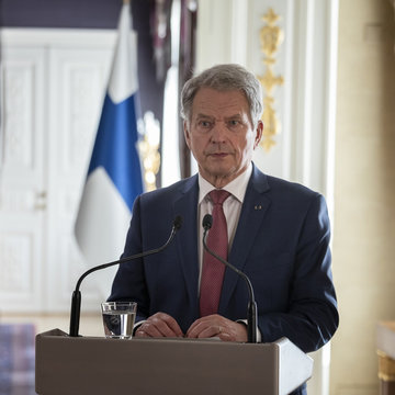 The President of the Republic of Finland, Sauli Niinisto. Photo: Twitter/@Finland_OSCE.