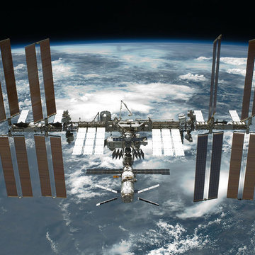 The International Space Station. Photo: WikiImages/Pixabay.