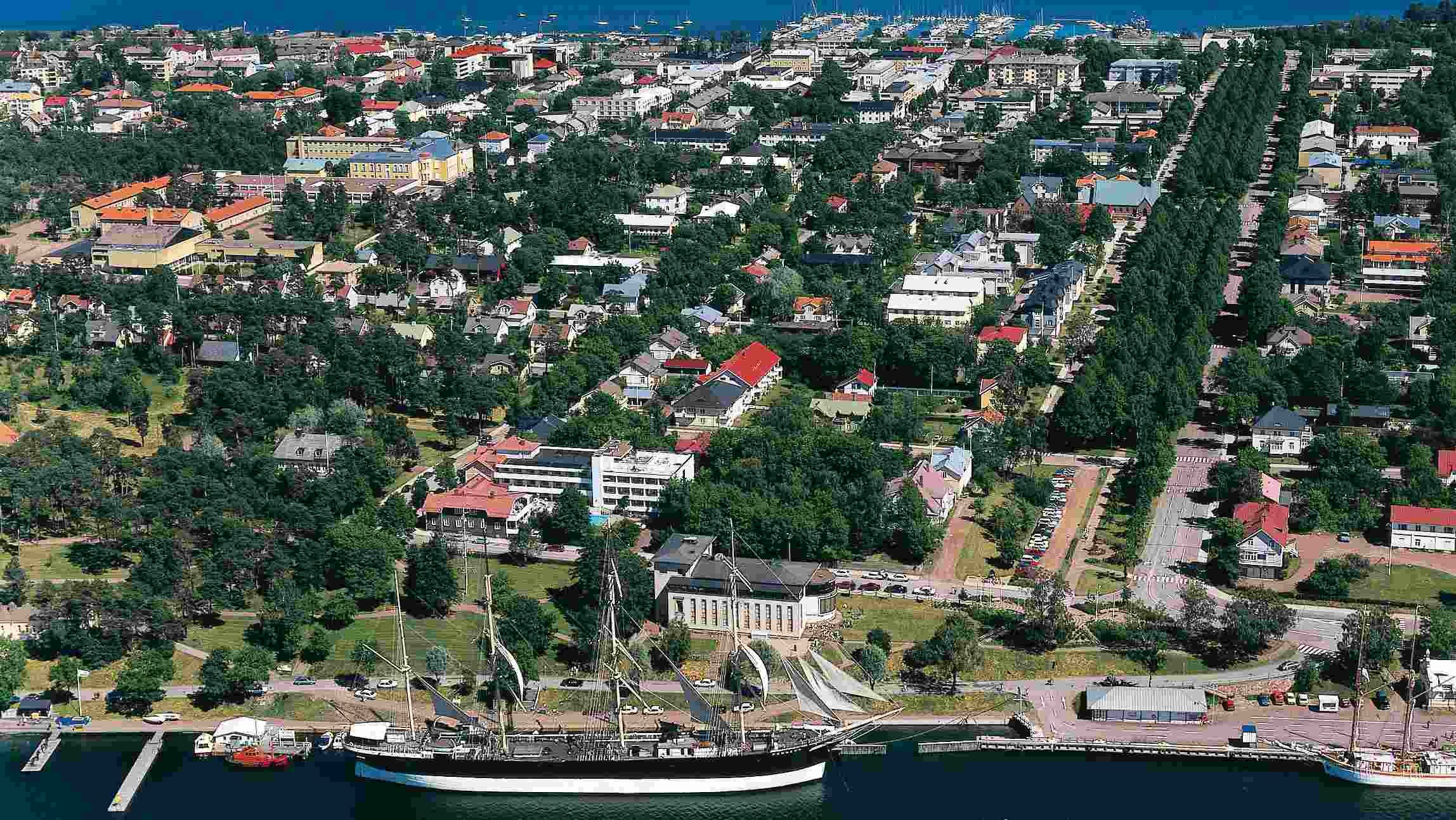A view of Mariehamn, in Åland. Photo: Visit Finland.
