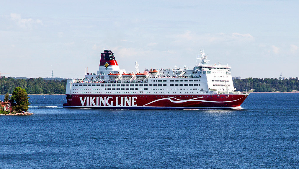 The vessel Mariella. Image by Viking LIne