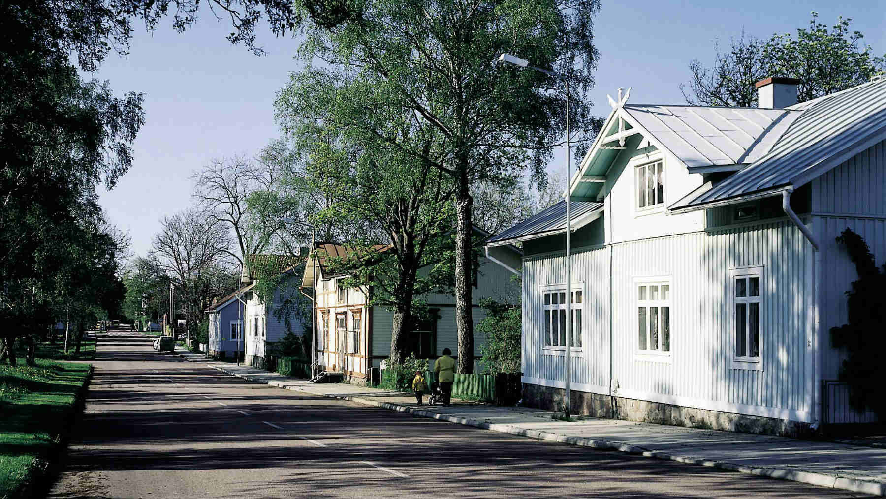 Street in Mariehamn, Aland islands. Photo by Visit Finland