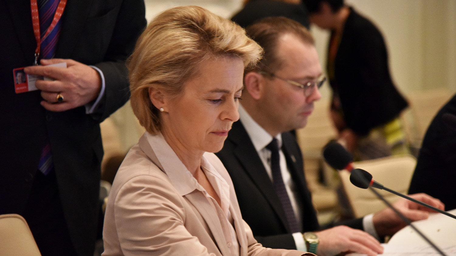 Ursula von der Leyen. Photo: European Council.