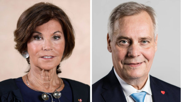 Birgitte Bierlein and Antti Rinne. Image: Finnish Government.