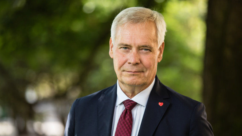 Prime Minister Antti Rinne. Photo: Finnish Government.