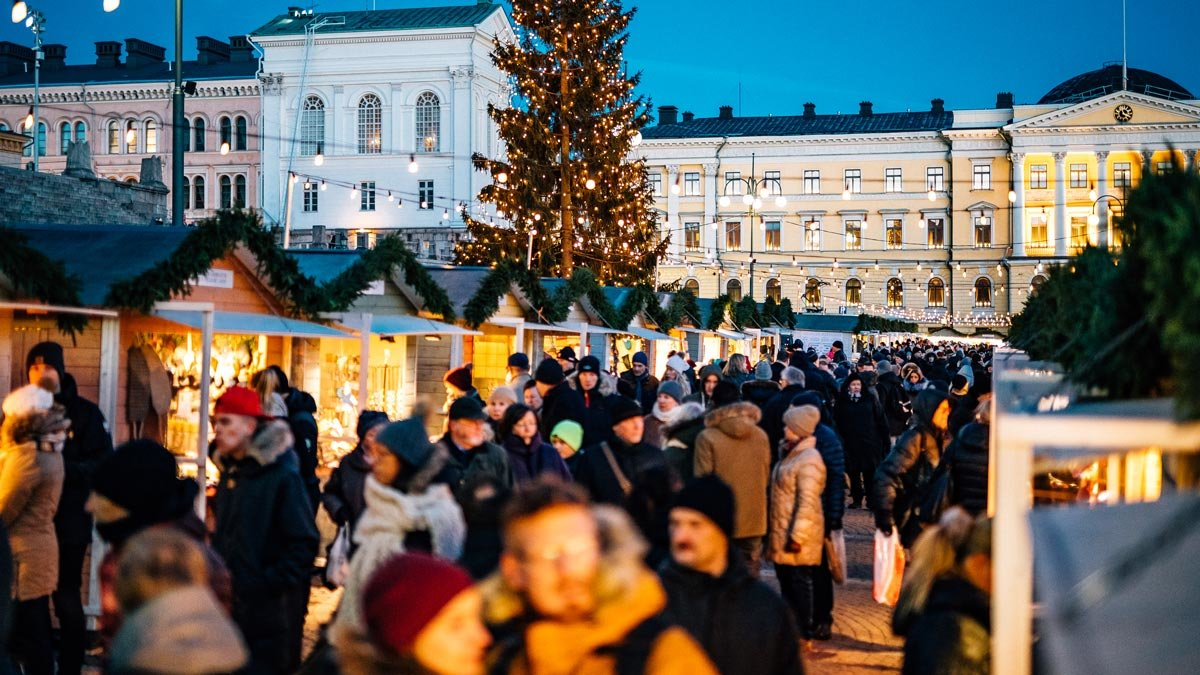 The Helsinki Christmas Market. Photo: City of Helsinki.
