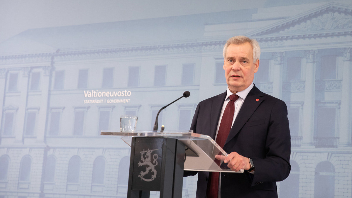 Antti-Rinne-resignation-press-conference-by-Kosti-Keistinen---Finnish-Government
