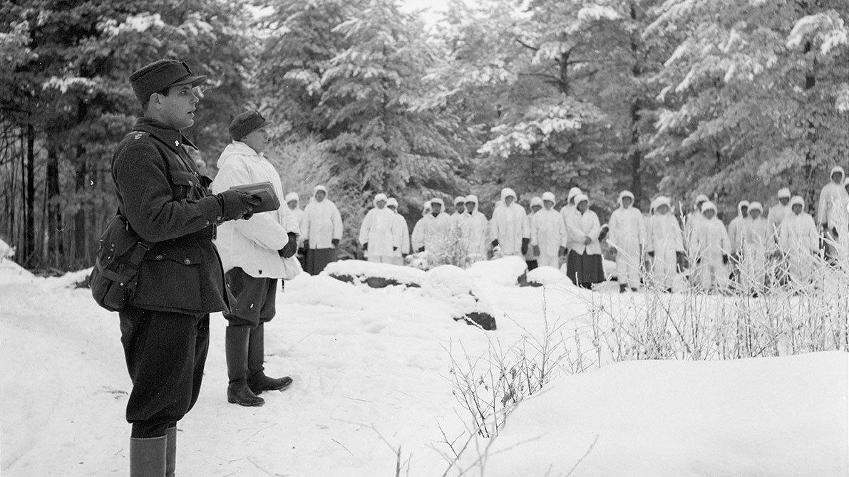 How winter harshness blessed Finns in Winter War