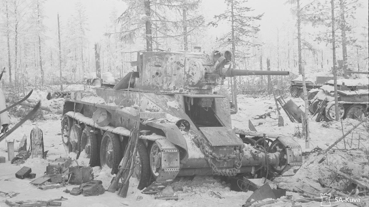 Photo: SA-Kuva/Finnish Wartime Photograph Archive.