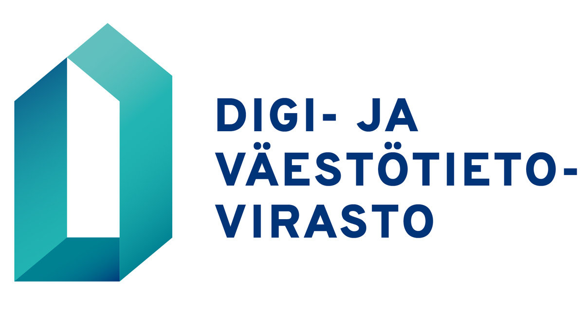 New logo of the Digital and Population Data Services Agency.