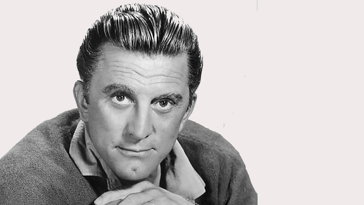 Kirk Douglas in a promotional photo. Image: Public Domain.