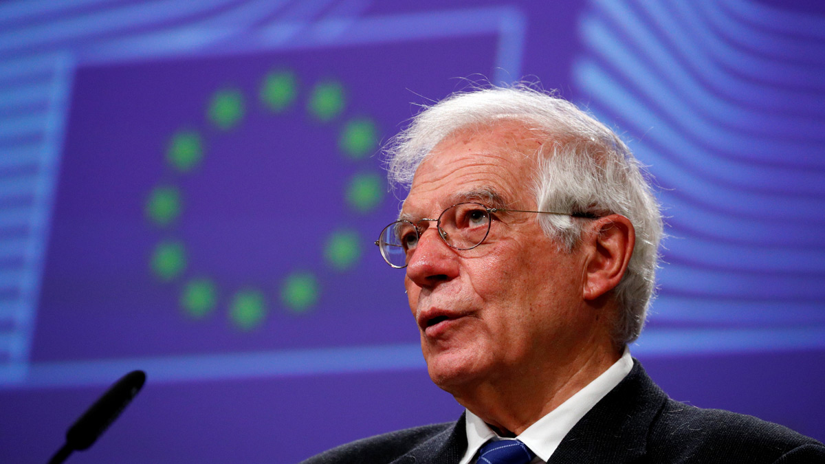 European High Representative for Foreign Affairs and Security Policy, Josep Borrell. Photo: Reuters/Francois Lenoir/File Photo.