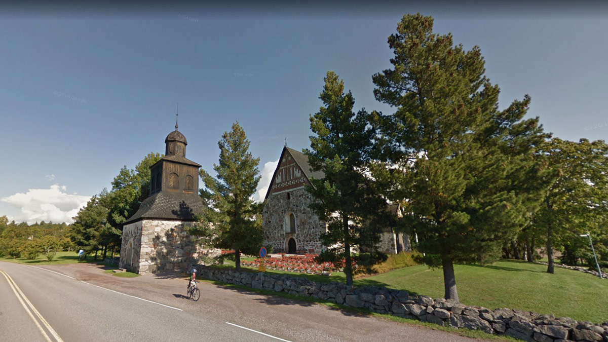 Sipoo-church-by-Google-Maps