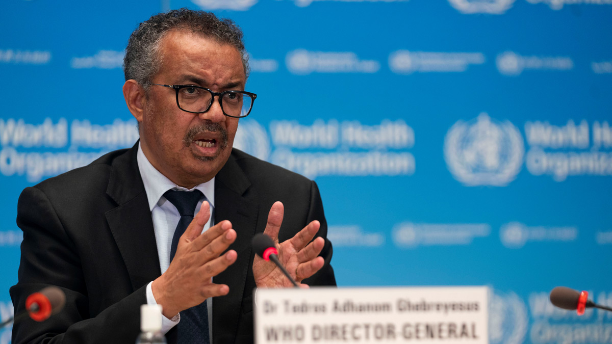 Tedros Adhanom, Director General of the World Health Organization (WHO). Photo: Christopher Black/WHO/File photo.