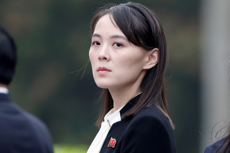 Kim Yo Jong, sister of North Korea's leader Kim Jong Un. Photo: Reuters/Jorge Silva/Pool/File Photo.
