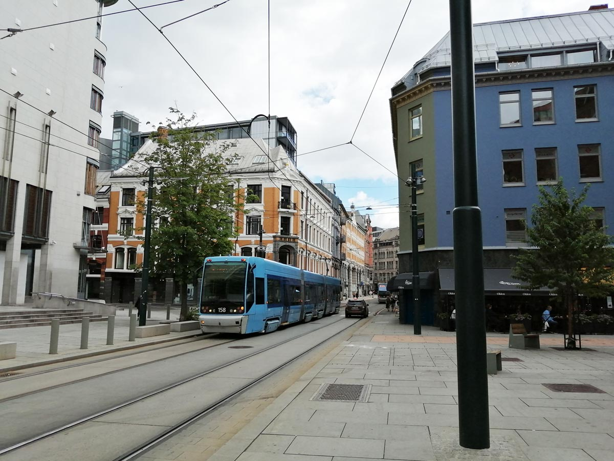 A view of the center of Oslo. Photo: Foreigner.fi/File photo.