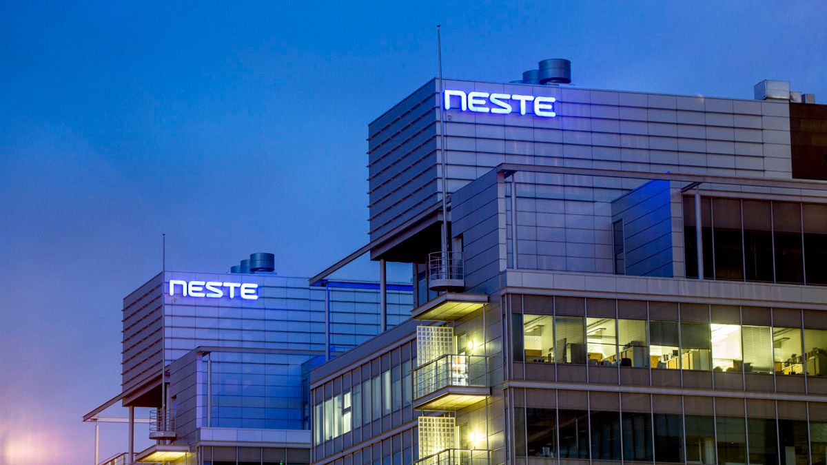 The Neste headquarters in Finland. Photo: Neste.