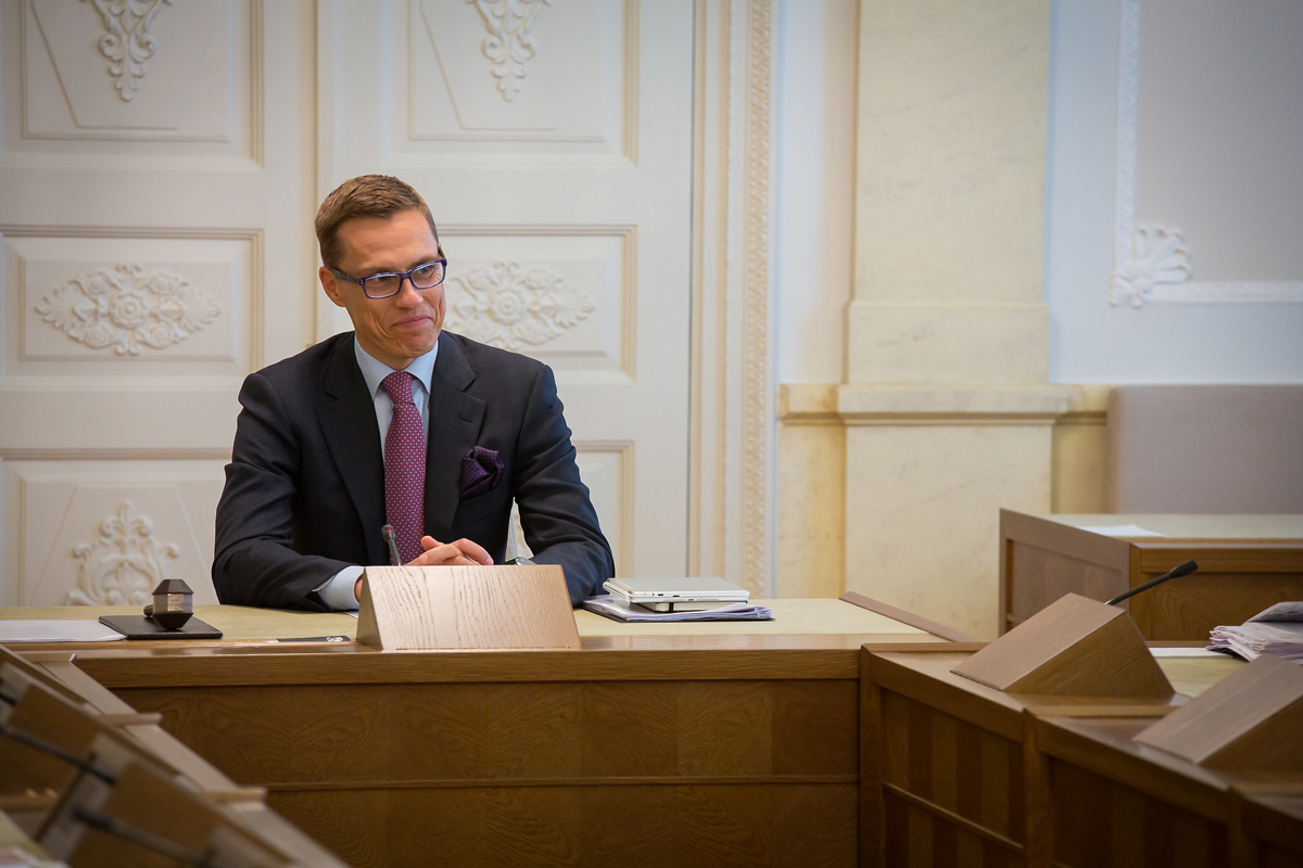File photo of the former Prime Minister of Finland Alexander Stubb. Photo: Laura Kotila/Vnk.