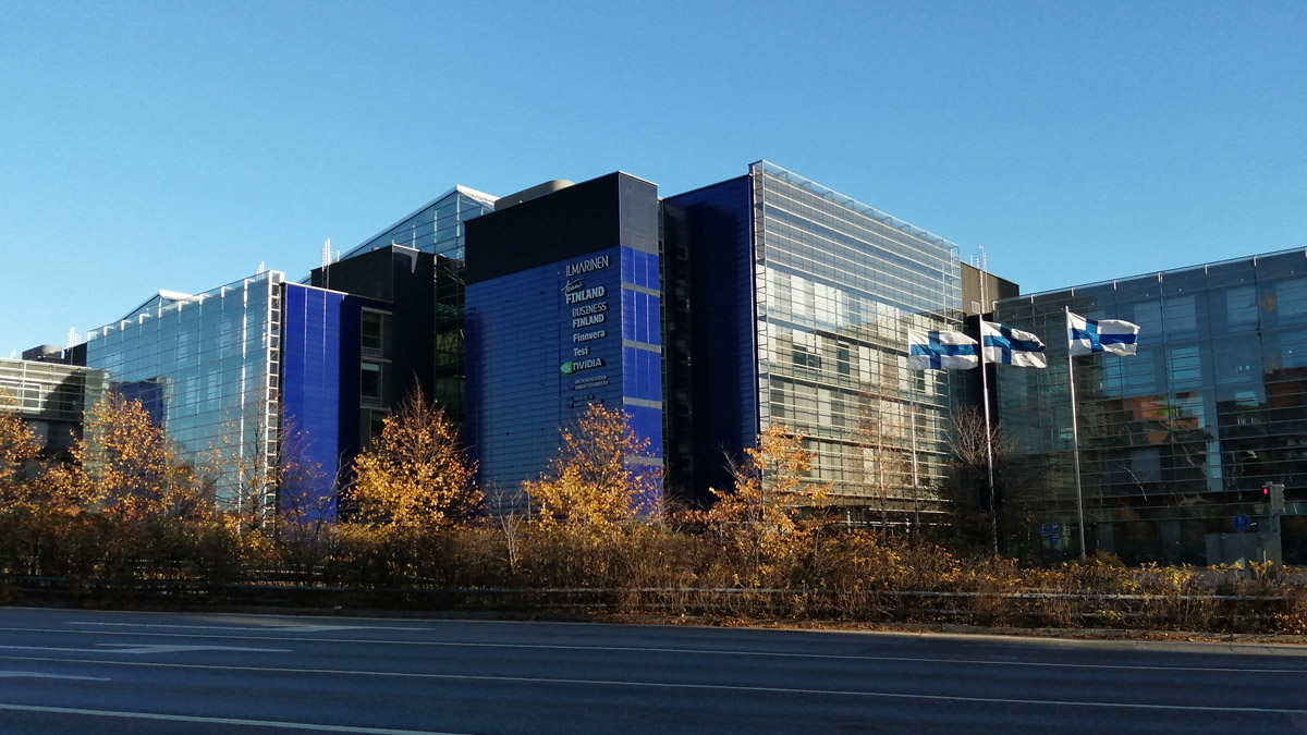 A general view of the headquarters of Business Finland, whose aid to companies caused a bitter controversy in 2020. Photo: Foreigner.fi.